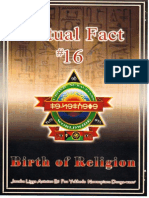 Dr York - Actual Fact 16 - Birth of Religion