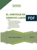 1-El Arbitraje en Derecho Laboral