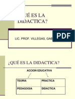 Qué Es La Didactica