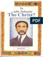 Is Haile Selassie the Christ