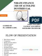 Analysis of Autoline Industries Ltd.