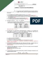 11_Taller  N° 11_Cinetica y Electroquímica