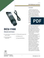 DCU 1100 Datasheet