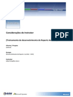 Treinamento de Desenvolvimento de Reports Ax 2012