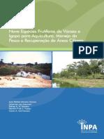 Nove Especies Frutiferas Da Varzea e Igapo Para Aquicultura, Manejo Da Pesca e Recuperação e Areas Ciliares