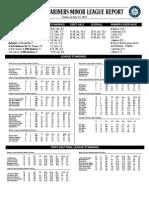 06.24.14 Mariners Minor League Report