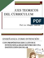 ENFOQUES TEORICOS DEL CURRICULUM 3°PARTE