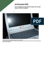 Desarmar Netbook Exomate X352