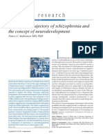 The Lifetime Trajectory of Schizophrenia And