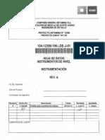 104-12398-106-Lde-j-01 (Hoja de Datos Instrumentos de Nivel)