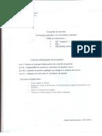 Résume + Exercice Controle de Gestion