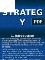 1. Strategy