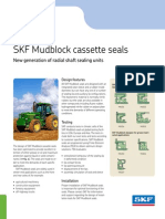 Seals for mud water and heavy bearing applications