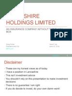 Porter ValueX 2014 Presentation Final