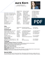 acting resume 4 10 14