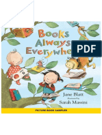 Books Always Everywhere by Jane Blatt; Illustrated by Sarah Massini