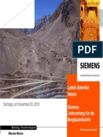 23.11. Siemens Supplier for Mining Industry