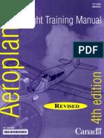Aeroplane Flight Training Manual 4th Edition - TC1001006