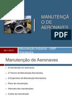 Manutenção de Aeronaves - UNIP