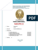 Escalonado Perfil Longitudinal Final