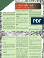 Lone Wolf RPG - Sorcerer, Priest, Knight & Pathfinder