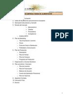 Model Pla d'Empresa Botiga Aliments