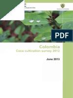Colombia Coca Cultivation Survey_2012