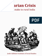 Agrarian Crisis.life at Stake in Rural India