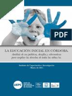 La Educación Inicial en Cba