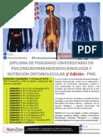 Postgrau-psiconeuroinmunoendocrinologia 3a Edicio