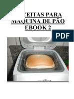 eBook # 2 RECEITAS PÃO - Salvar e Imprimir