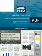 Preventing mycotoxins contamination in aquaculture & aquafeeds