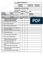 Lista de Verificacion