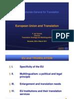 European Union and Translation-Presentation