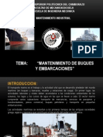 Mantenimiento de Buques y Embarcaciones