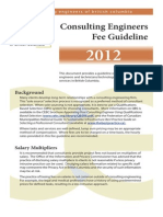 CEBC Fee Guidelines 2012