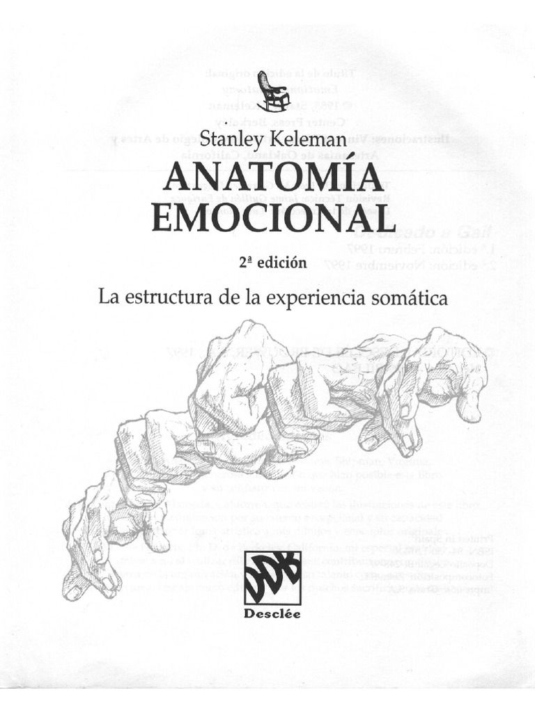 KELEMAN-Anatomia Emocional CAP 1