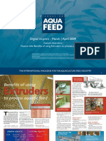Benefits of using Extruders to process aquatic feed