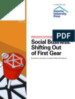 MITSMR Deloitte Social Business Report Summer 2013