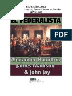 Hamilton,Madison.y.jay El.federalista