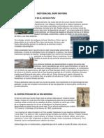 Historia Del Surf en Peru