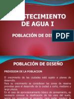 Abastecimiento de Agua i Poblacion