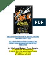 Caballeros Del Zodiaco Saga Completa (Capitulos)