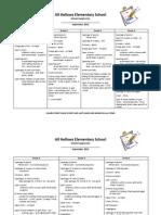 school supply lists - september 2014