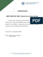 ABNT NBR 5361 - Disjuntores de Baixa Tensao