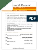 CV - Resume HM