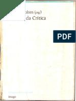 (Liv.) José Luís Jobim (Org.) - Palavras Da Crítica
