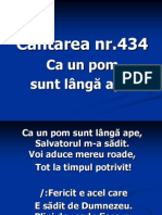 CA Un Pom Sunt Langa Ape - 434