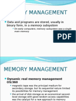 MEMORY MANAGEMENT IBM OS 360