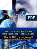 Mac OS X HISTORY PPT